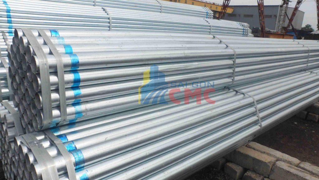 Giá thép ống mạ kẽm cập nhật mới nhất tại Tphcm năm 2021
