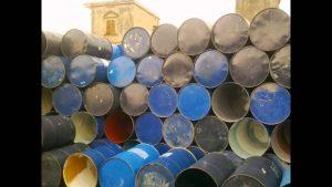 Thu mua thùng phi sắt số lượng lớn