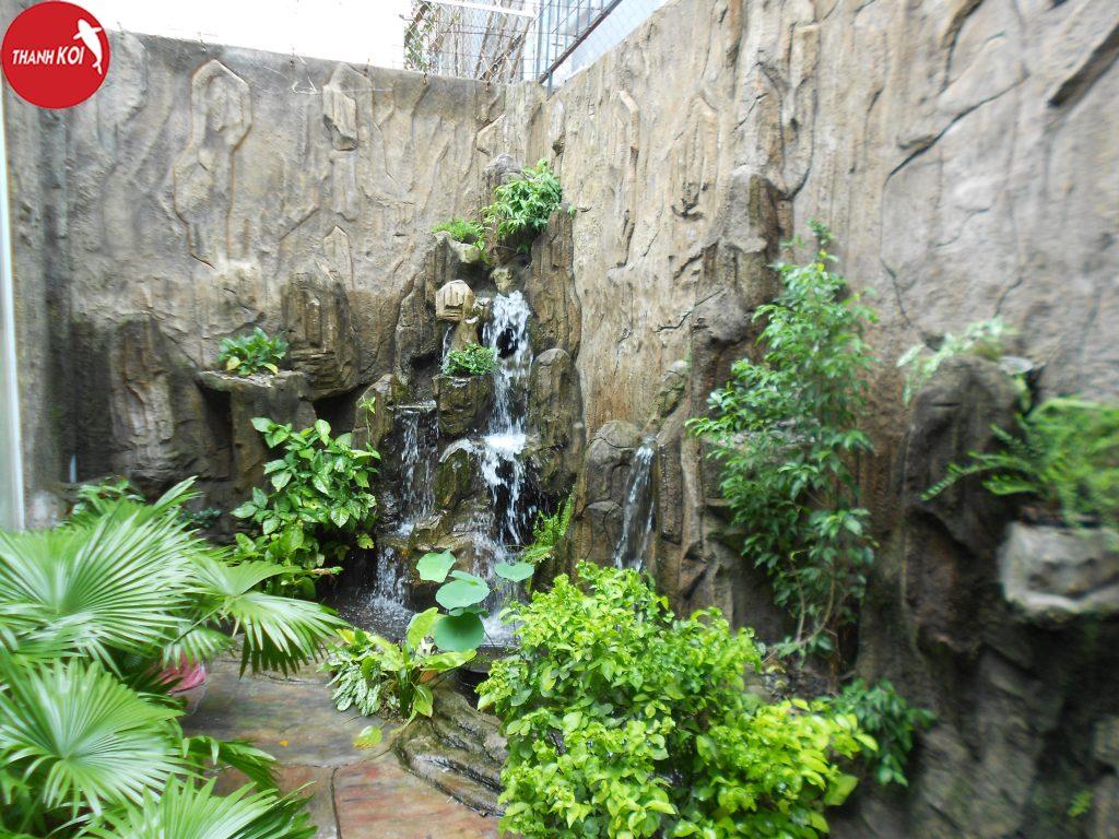 Công ty thiết kế tiểu cảnh thác nước chuyên nghiệp, uy tín tại Tphcm